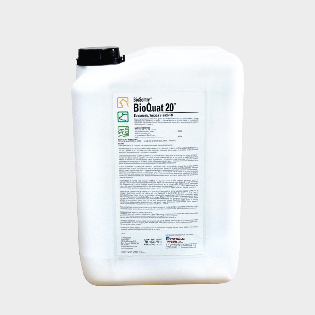 BioQuat 20Lt